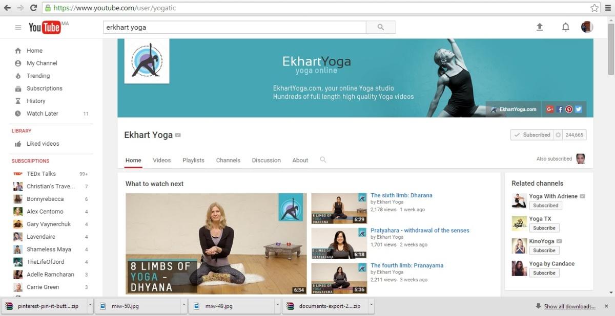 Erkhart yoga